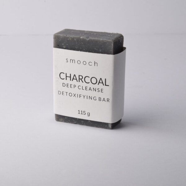 Smooch Charcoal Deep Cleansing Bar